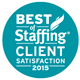 2015 Best of Staffing Client Satisfaction Award
