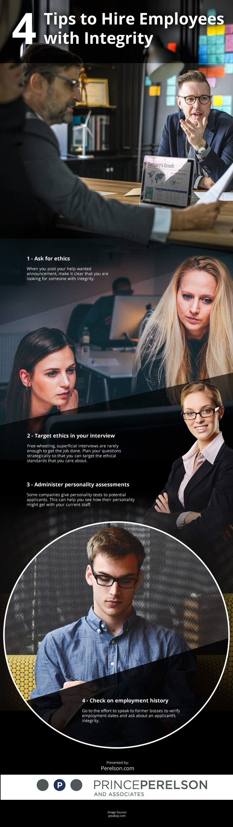 4 Tips to Hire Employees with Integrity [infographic]