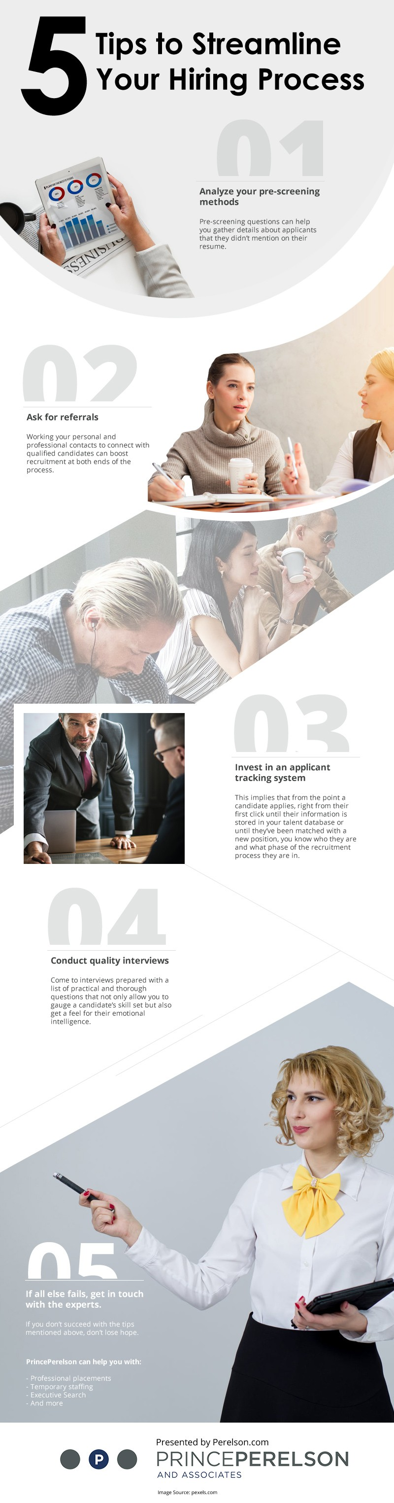 5 Tips to Streamline Your Hiring Process [infographic]