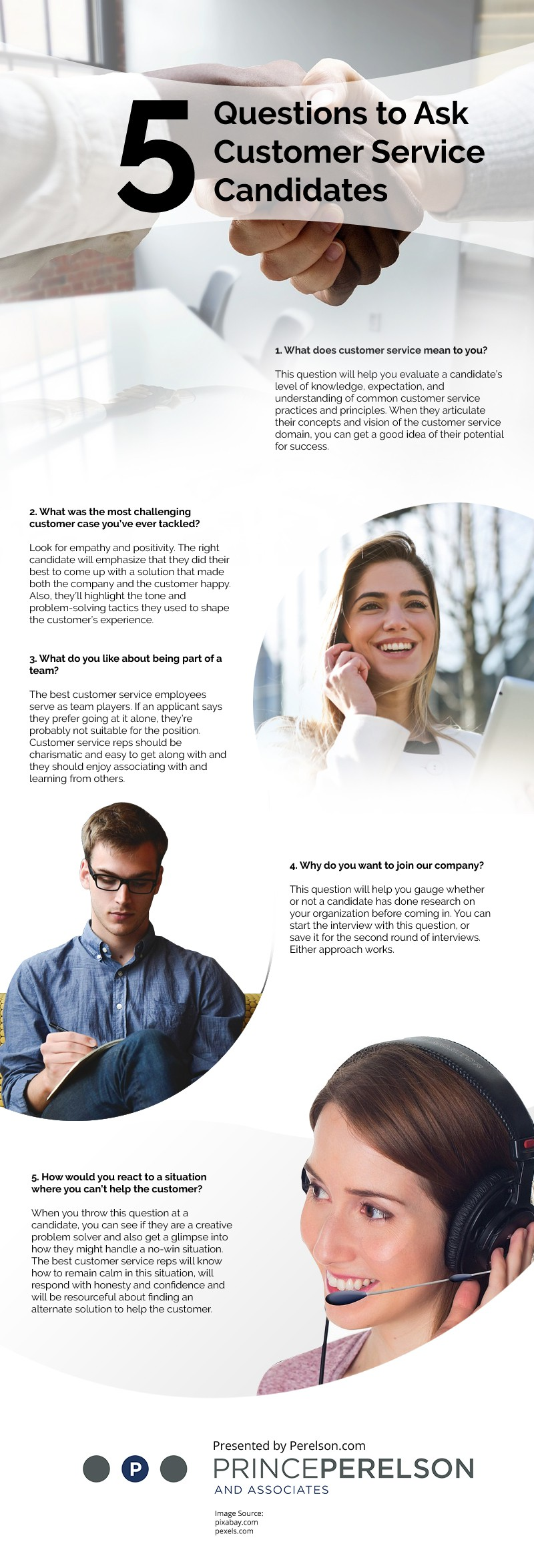 5 Questions to Ask Customer Service Candidates [infographic]